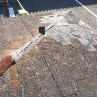 屋根の復旧工事受け付けてます