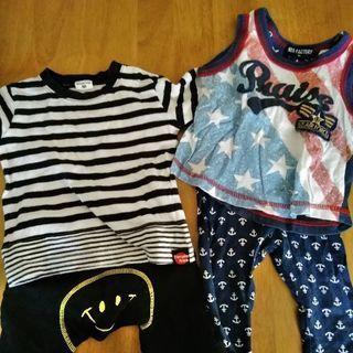 31538f3eca65b 子供服夏 (もも) 大阪のベビー用品《ベビー服》の中古あげます・譲ります ...