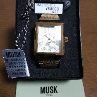 MUSK 紳士用腕時計