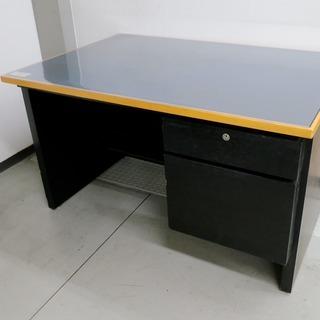 【高級】オフィス用・学習用のデスク (ブラック)