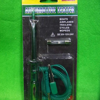 自動車用 電気回路テスター (DC 6〜24ボルト) 新品