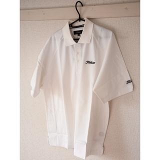 新品未着用 Titleist ポロシャツ 白 Lサイズ