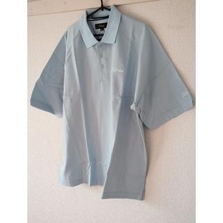 新品未着用 Titleist ポロシャツ 水色 LLサイズ