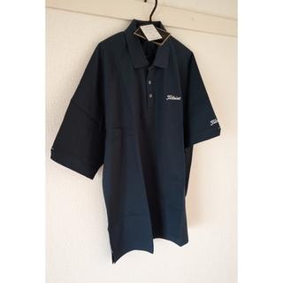 新品未着用 Titleist ポロシャツ 紺色 Mサイズ