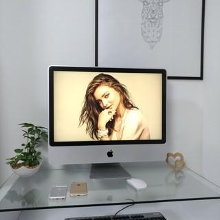 Apple iMac① 美品! 500G大容量★ 特大24インチ♪...