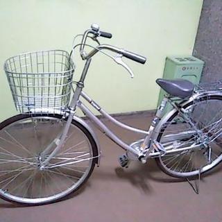 2018年6月購入♪ 使用回数少ないキレイな27インチ自転車♪シルバー♪