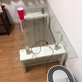 ガラステーブル 早期引き取り希望