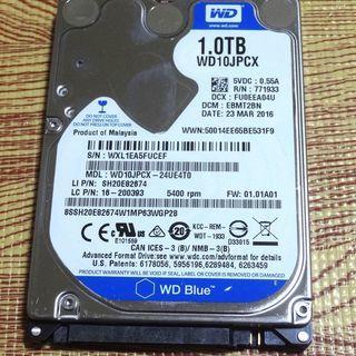 Western Digital 2.5インチ 1TB HDD WD...