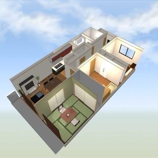 溝ノ口の3LDKマンションが初期費用完全ゼロ!最上階角部屋!ゼロ...