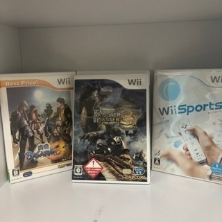 【おまけ】Wii ゲームソフト