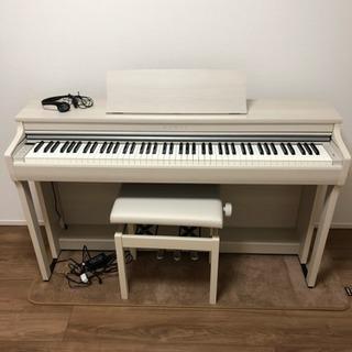 《美品》KAWAI デジタルピアノ 18年製  CN27 アイボリー