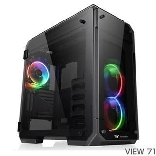 VIEW 71 TG RGB フルタワー型 PCケース
