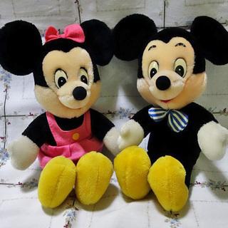 値下げしました!ミッキー&ミニー
