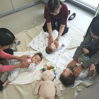 新大阪で育児ママの時間管理術とベビーマッサージ!