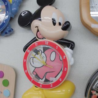 掛け時計 ミッキーマウス 30cm×50cm ディズニー クロ...