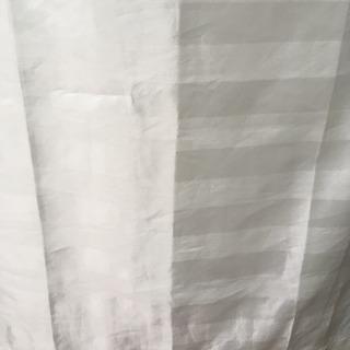無印 レースカーテン100×176 2枚セット