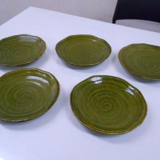 陶器製 取り皿5枚セット/和