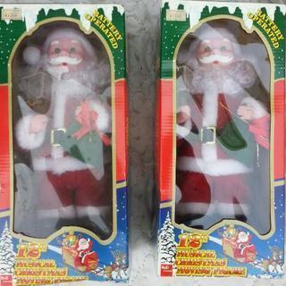サンタの人形(ジャンク品)