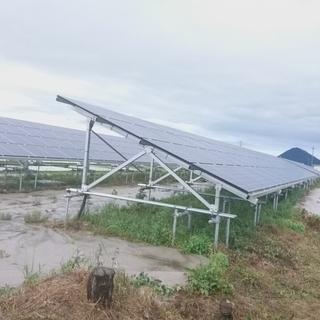 守山市 498万 太陽光発電で貸出中 土地の収益物件