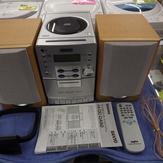 サンヨー CD・MD・カセット・ラジオ ミニコンポ DC-DA82...
