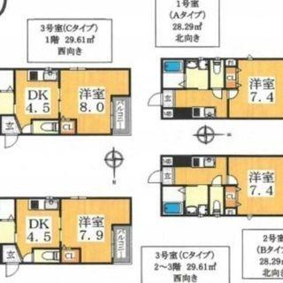 📍駅近💡新築ハイツ✨駒川✴1K・1DKあります‼️