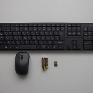 バッファロー ワイヤレス 無線キーボード・マウス BSKBW100SBK