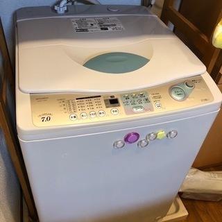 洗濯機&オーブン電子レンジ*セットで差し上げます。
