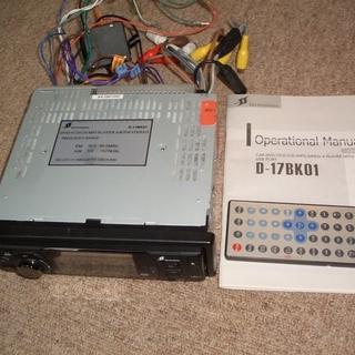 CPRM対応!!車載専用設計3インチパネルDVD MP3MP4D...