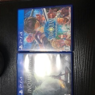 ps4ソフト2本セット!激安。