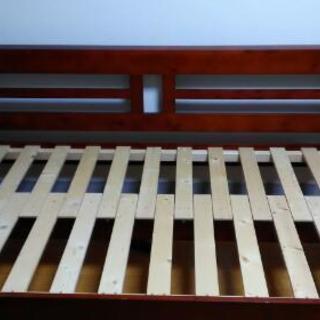 ecli 天然木すのこソファベッド(フレームのみ)