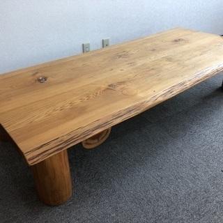 杉の無垢テーブル