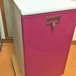 木製 収納家具 ピンク