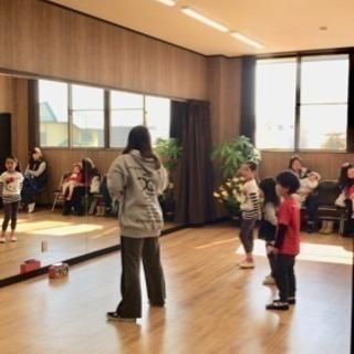 4月オープン dance studio peach 無料体験