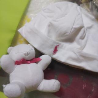 ラルフローレンベビー帽子&人形
