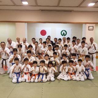 新極真空手✊入間市武道館!日本代表選手、女性の先生が指導!
