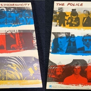 LPレコード THE POLICE『SYNCHRONICITY』ア...