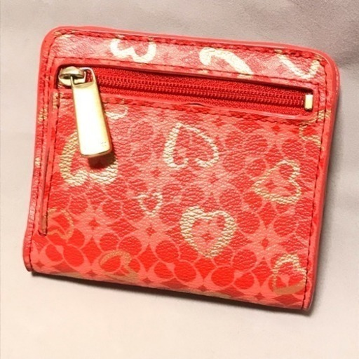 new style 5dfa9 f6631 二つ折り財布 コーチ ポピー コンパクト二つ折り財布 ピンク系 ...