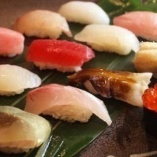 祇園の寿司屋でホールスタッフ募集の画像