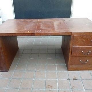 【訳あり家具】懐かしい折りたたみ式の文机