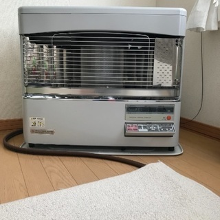 コロナFFストーブ床暖付き 2004年製 配管付き