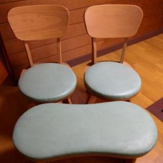 (決まりました)椅子3脚セット