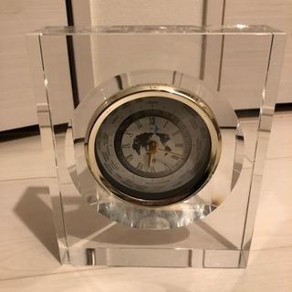 ☆ガラスの時計☆お売りします!