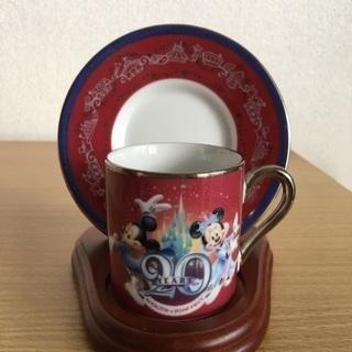 東京ディズニーランド20周年デミタスカップ