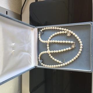 本真珠ネックレス・ブレス売ります。