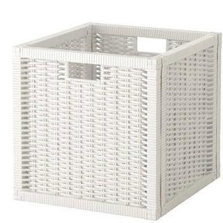 【IKEA】かご収納BOX 4個お売りします!