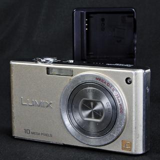 パナソニック デジタルカメラ LUMIX FX35 グロスゴールド...
