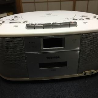 CDラジオカセットレコーダー 東芝