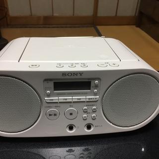 CDラジオ SONY ZS-S40