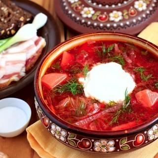 【ロシア料理教室 (外国語対応/ホームステイ)】ボルシチ、ピロシ...