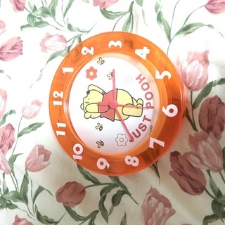 くまのプーさん掛け時計 新品